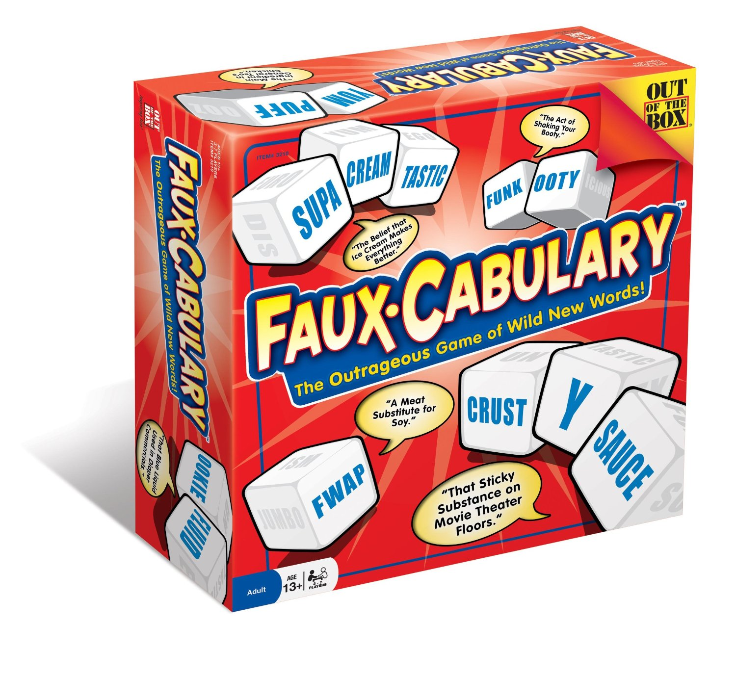 Out of the Box Toys Faux-Cabulary The Outrageos Game of Wild New Words at Sears.com