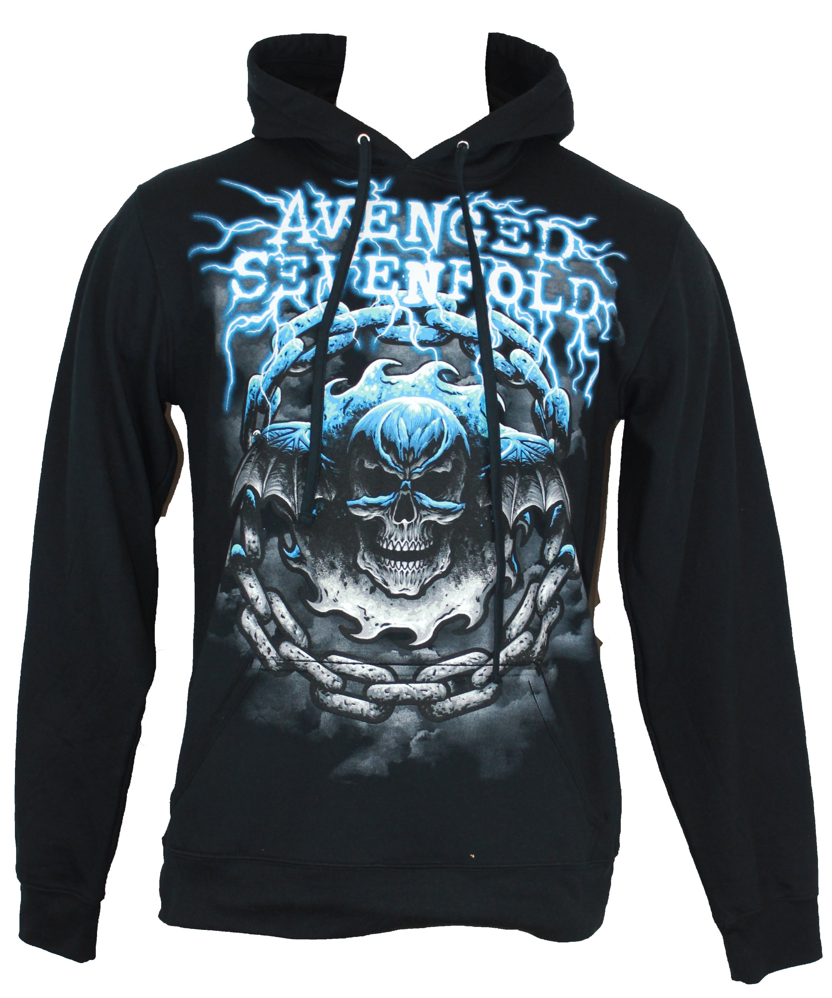 Avenged-Sevenfold-Pull-Over-Hoodie-Sweatshirt-Electrified-Batwing