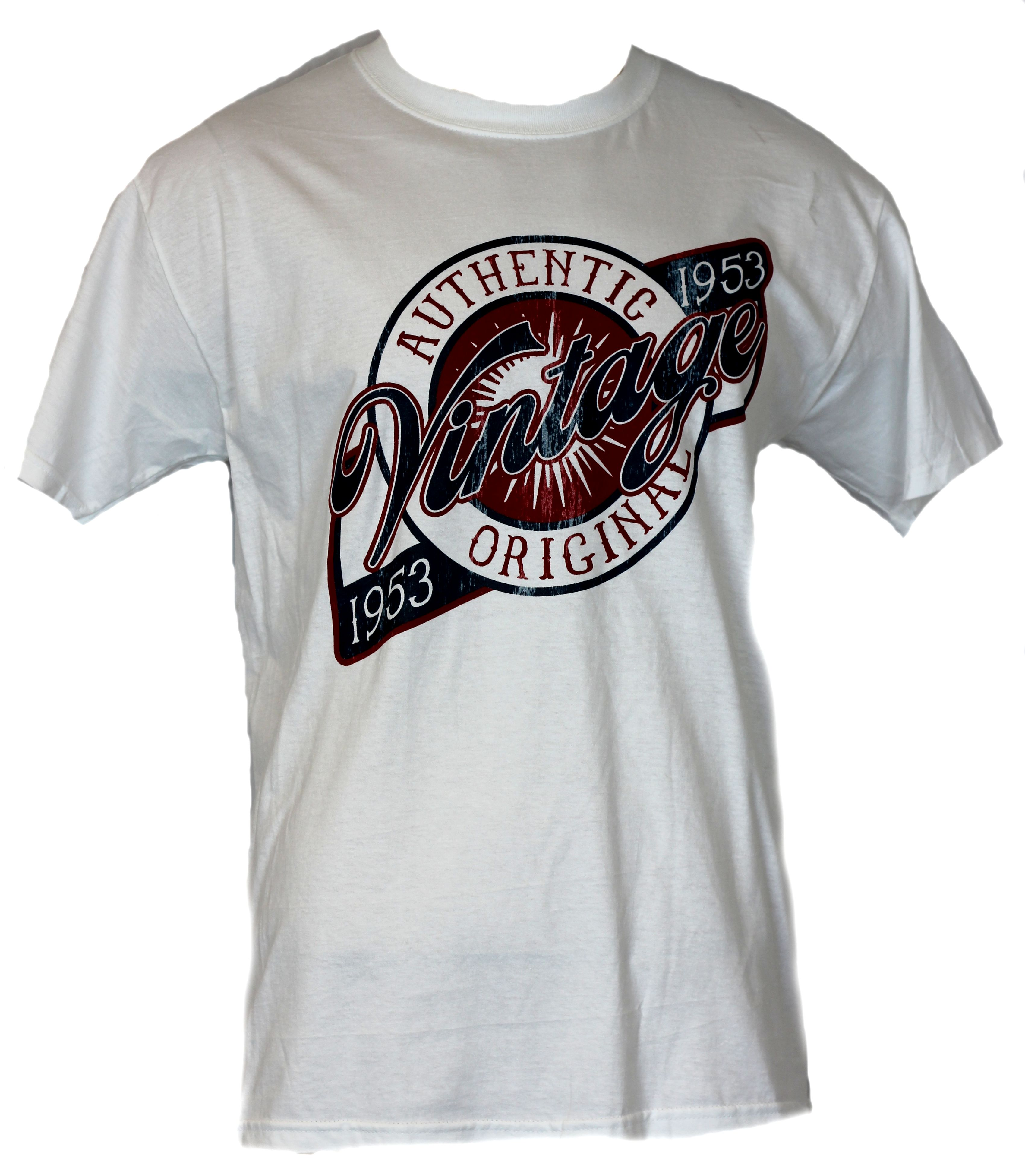 authentic vintage mens t shirt birthday 1953 shirt