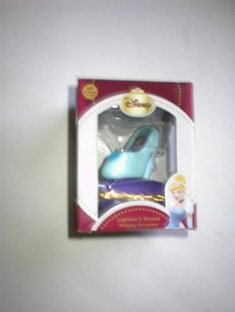 Disney Cinderella Slipper Lighted and Sound Holiday Ornament at Sears.com