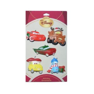 Disney Cars Holiday Ornaments 5 Pack at Sears.com