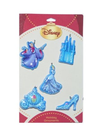Disney Cinderella Holiday Ornaments 5 Pack at Sears.com