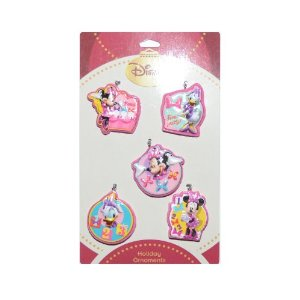 Disney Minnie Mouse Holiday Ornaments 5 Pack at Sears.com