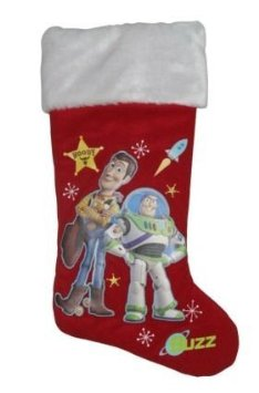 "Disney Toy Story Woody and Buzz Red 18"" Christmas Stocking at Sears.com"